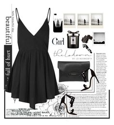 """chic girl"" by licethfashion ❤ liked on Polyvore featuring Glamorous, Polaroid, Jo Malone, Bobbi Brown Cosmetics, Casetify, Boy Meets Girl, Alexandre Birman and Aesop"