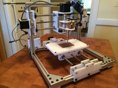 Make a CNC Mill with Laser Cut