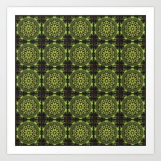 #Green #Marble #Fractal #Pattern #Art #Print and #Gifts on #society6 by Hippy Gift Shop - $16.64