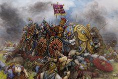 Battle (Adrinopol) by Valentina-Mustajarvi.deviantart.com on @DeviantArt Adrianople 378 CE Romans against Visigoths in Thrace