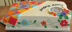 quilt themed cakes | Posted by Michelle Judson at 10:42 AM