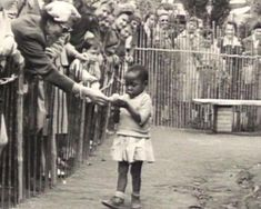 An African girl is actually part of a zoo! A human zoo in Belgium, Photos Du, Old Photos, Michel Leiris, Human Zoo, By Any Means Necessary, African Girl, African Women, World's Fair, Interesting History