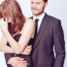 Dakota Johnson and Jamie Dornan.