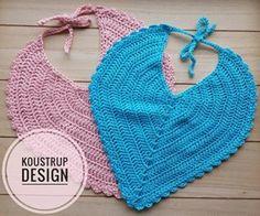 4 Forbrug: Ca. 35 g Crochet Art, Cute Crochet, Crochet For Kids, November Baby, Newborn Crochet, Baby Knitting Patterns, Bibs, Crochet Clothes, Instagram