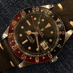 Rolex 6542 on Denim! Circa 1959