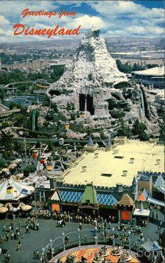 Greetings from Disneyland