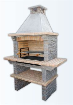 1000 images about outdoor kitchen on pinterest pizza - Fabriquer un barbecue en pierre ...