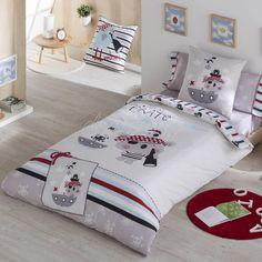 Juego de cama funda n/órdica y funda de coj/ín, reversible, cama individual dise/ño de Elena de Avalor Disney