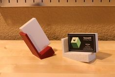 Modern Desk Business Card Holder (Horizontal or Vertical cards) Business Card Holders, Business Cards, Friendly Plastic, Modern Desk, Childproofing, Biodegradable Products, 3d Printing, Im Not Perfect, Give It To Me