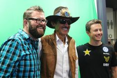 One of the Highlights last year while we were at SEMA show 2014 taking meet and greet pics with our green screen photo booth. Richard Petty,Rutledge Wood,and Tanner Foust. Super awesome to work with and I hope we get to do it again this year!!!