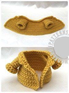 Fisherman jacket free crochet pattern