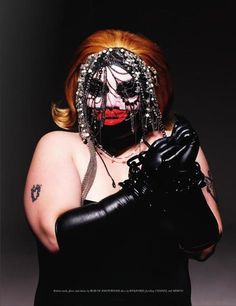 Beth Ditto - Leigh Bowery Inspired