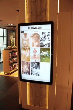 The Pull Bear Interactive Store Pulls in Curious Consumers #hotfashion trendhunter.com
