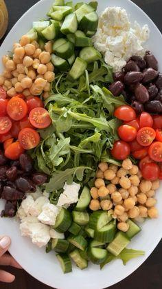 Healthy Summer Recipes, Summer Salad Recipes, Healthy Eating Recipes, Summer Salads, Clean Recipes, Whole Food Recipes, Diet Recipes, Healthy Snacks, Vegetarian Recipes