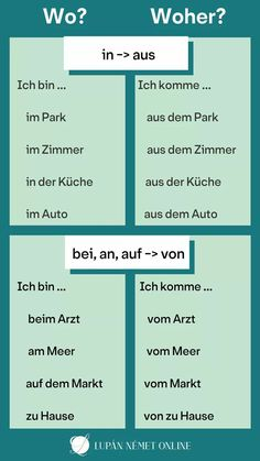 German Grammar, German Words, Find A Tutor, German Language Learning, Learn German, Korean Language, Study Notes, Study Tips, Vocabulary