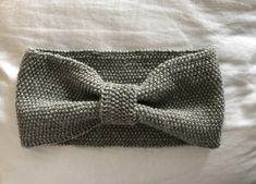 Pannebånd strikket i Viking garn reflex