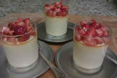 Vanilla Custard with Berry Compote (electic kettle)