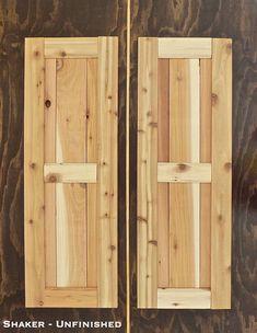 Shaker Style Shutters Unfinished Cedar Shutters WoodShaker Style Flat Panel Wood Exterior Shutter   Home Sweet Home  . Flat Panel Vinyl Shutters. Home Design Ideas