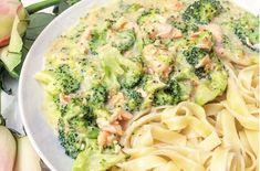 Recept roomtagliatelle met broccoli en zalm - Jenny Alvares