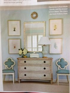 Love love love this. Designed by Phoebe Howard featured in Coastal Living!