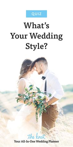 Get wedding inspiration and make wedding planning easy with our style quiz.