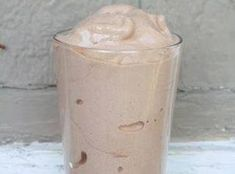 Skinny Shake Recipe that tastes like Wendy's Frosty! 3/4 cup almond milk, about 15 ice cubes, 1/2 tsp vanilla, 1-2 Tbsp unsweetened cocoa powder, 1/3 of a banana