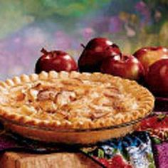 Apple Cream Pie... I make this every Thanksgiving and it's usually the 1st pie gone! Super yummy and oh so easy!!!:) Em