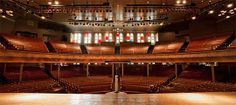 Ryman Auditorium The Mother church of country music.   Best place to attend a concert in Nashville.