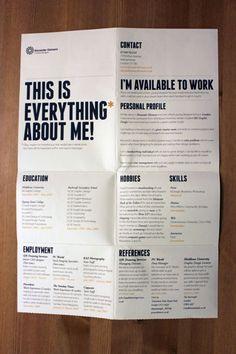 Powerful CV, @pedrocaramez:
