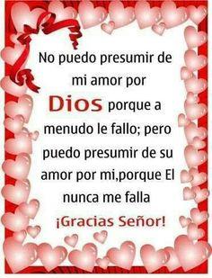Gracias Dios por tu amor!!