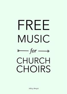 Maybe you've been there, or maybe you're there now - the choir director who's trying to piece together a music library on a shoestring budget with anthems that are interesting and relevant to your choir and congregation. As we all know, music is expensive ($2-4 per octavo for most choral piec