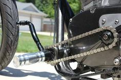 chain instead of gear shift linkage This is a damn good idea!!!