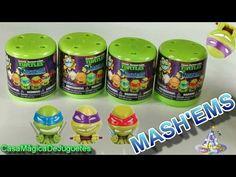 Mashems de Las Tortugas Ninja Adivina a Cuales Tortugas Mutantes Encontr...