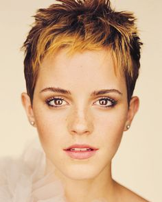Emma Watson and her hair is always an inspiration.