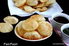 PANI POORI PURI - http://www.pincookie.com/pani-poori-puri/