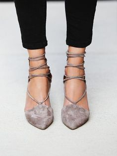 Jeffrey Campbell + Free People Berlin Heel #sexyshoes