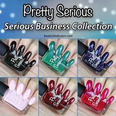 The Pretty Serious Serious Business Collection brings a whole new meaning to getting dressed for work!