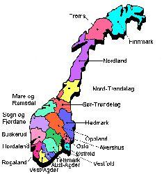 noorwegen kaart clickable