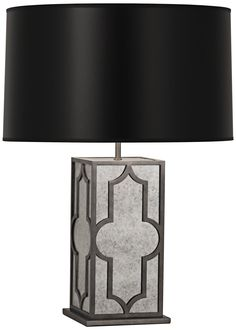 Robert Abbey Addison Black and Nickel Table Lamp -