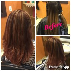 Highlights before & after