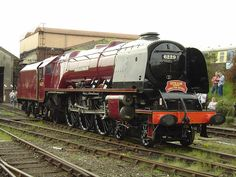 LMS Princess Coronation Class 6229 Duchess of Hamilton Diesel, Shed Images, Old Steam Train, Tramway, Train Pictures, Steam Pictures, Art Pictures, National Railway Museum, Steam Railway