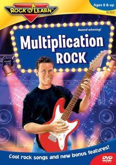 Rock 'N Learn: Multiplication Rock DVD ~ Rock 'N Learn, http://www.amazon.com/dp/B00023BLG2/ref=cm_sw_r_pi_dp_BC9-sb0HEMDJZ
