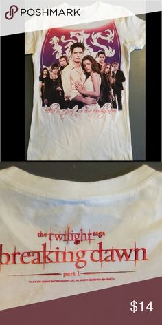 Twilight Saga Breaking Dawn T-Shirt Bella's a part of our family now.                                New Without Tags Tops Tees - Short Sleeve