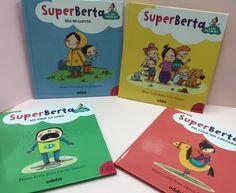 SuperBerta de @edebegrupo en www.papelicopy.com. A través de las historias de SuperBerta los niños podrán aprender a gestionar sus emociones como la alegría, el miedo, la tristeza, el amor, la sorpresa, la verguenza, la colera... Porque solo se puede aprender aquello que se ama y tiene un significado emocional y personal. Para niños de 6 a 8 años
