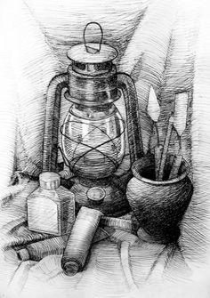рисунок карандашом натюрморт: 69 тис. зображень знайдено в Яндекс.Зображеннях