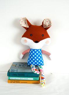 Childrens Soft Doll Plush Fox Toy For Babies par FriendsOfSocktopus.