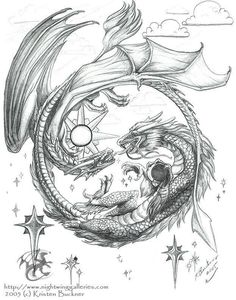 I'd make the dragon's wolves and make the circle part I to a dream catcher