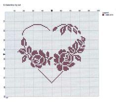 Single colour flower heart luli: ♥ S. Valentino ♥