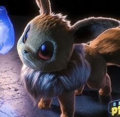 What Eevee in the new Detective Pikachu Pokemon movie could look like. By: Jonathan Zarate Sanchez Pokemon Film, 3d Pokemon, Pokemon Movies, Pokemon Craft, Pokemon Na Vida Real, Pokemon In Real Life, Wallpapers Kawaii, Cool Pokemon Wallpapers, Eevee Wallpaper