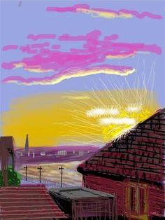 David Hockney - ipad drawing